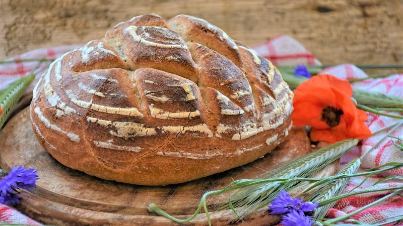 Faire notre pain à la maison